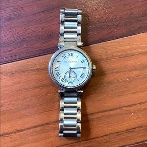 Michael Kors Ladies Skylar Silver Watch